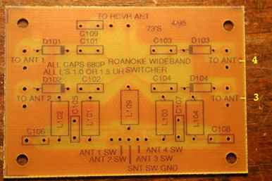 FAR antenna board