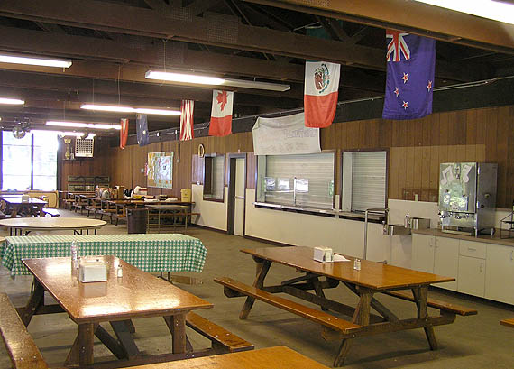 Dining Hall interior