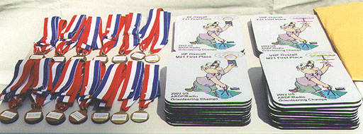 Medals and mouse pads